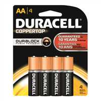 DMN1500B4PK,Batteries,Duracell, Inc., 1120