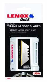L20351GOLD50D,Utility Knives,Lenox, 483