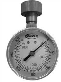 PFWG300L,Test Gauges,Proflo